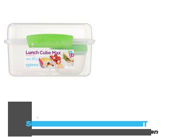 Sistema Lunchbox 3-delig lime – 2 l aanbieding