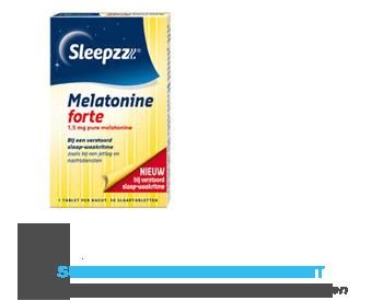 Sleepzz Melatonine en citroenmelisse forte aanbieding