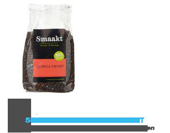Smaakt Zwarte quinoa biologisch aanbieding