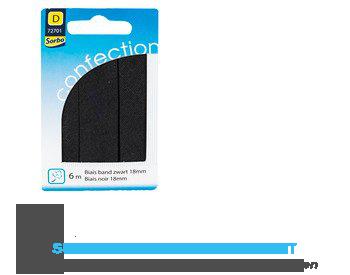 Sorbo Biais band zwart 18mm 6m aanbieding