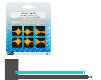 Star x Antikrasviltjes bruin 22mm aanbieding