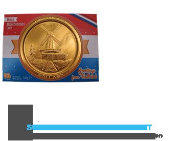 Steenland Chocolade medaille aanbieding
