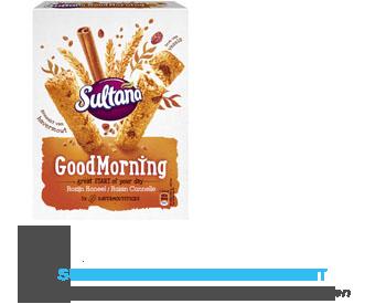 Sultana Goodmorning rozijn-kaneel