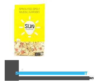Sun organic Sprouted speltmuesli aardbei
