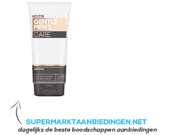 Tabac Gentlemen's care after shave balm aanbieding