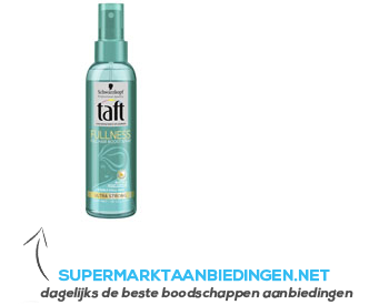 Taft Fullness pump spray aanbieding