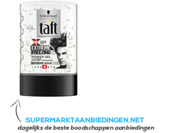 Taft Power gel extreme 5 aanbieding