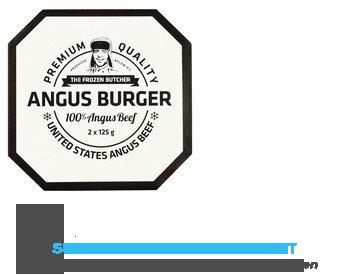 The Frozen Butcher Angus beefburger aanbieding
