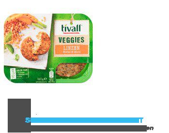 Tivall Vega linzen burger