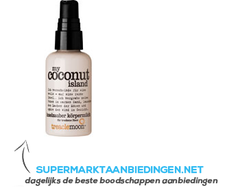 Treaclemoon My coconut island hand& body lotion aanbieding
