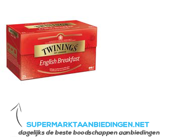 Twinings English breakfast thee
