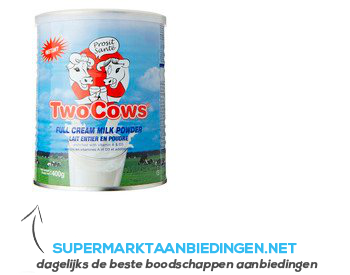 Two cows Melkpoeder aanbieding