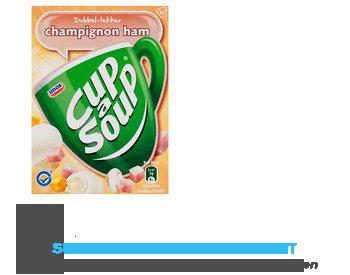 Unox Cup-a-soup champignonsoep ham aanbieding