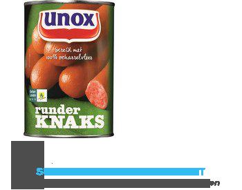 Unox Knaks rund aanbieding