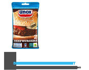 Unox Rundvlees hamburgers aanbieding