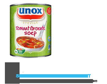 Unox Soep in blik tomaten groentesoep aanbieding