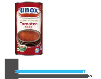 Unox Soep in blik tomatensoep aanbieding