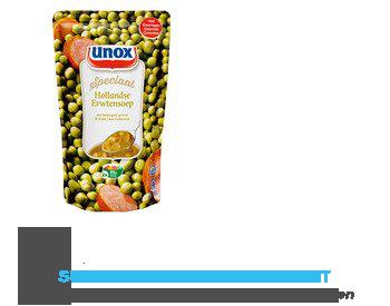 Unox Soep in zak Hollandse erwtensoep aanbieding