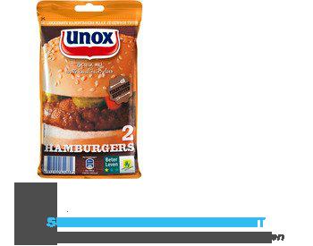 Unox Vlees hamburger aanbieding