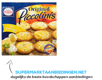 Wagner Piccolinis 3 formaggi aanbieding