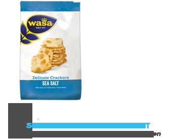 Wasa Delicate cracker seasalt aanbieding