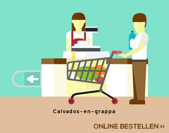 Calvados en grappa aanbieding