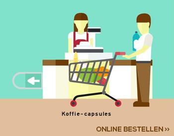 Koffie capsules aanbieding