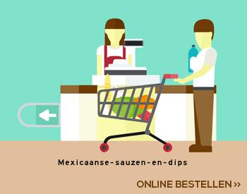 Mexicaanse sauzen en dips aanbieding